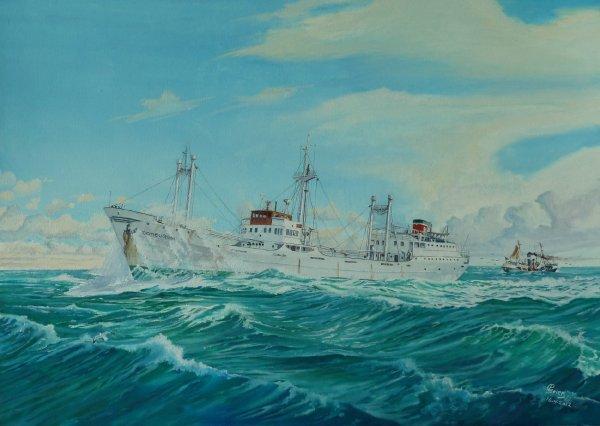 ms Domburgh rederij Wm. H. Müller & Co. N.V.