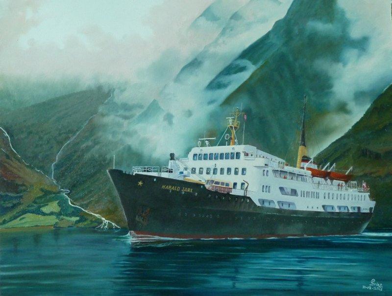 Harald Jarl- Hurtigruten