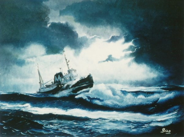 Sleepboot Nederland W. Muller