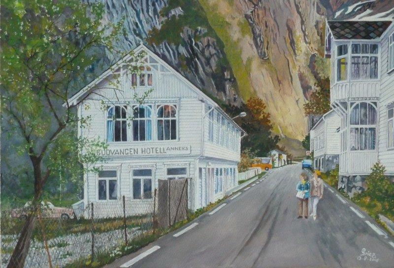 Gudvangen - Noorwegen