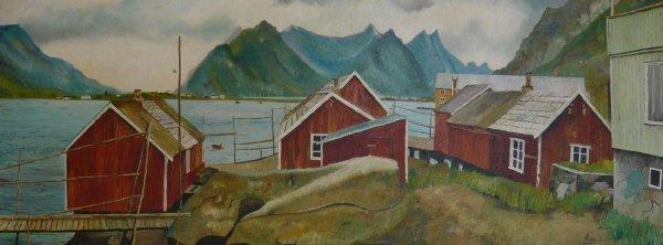 Reine - Lofoten Noorwegen