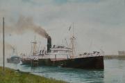 Buitenhaven in Terneuzen 1959 - 1960