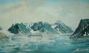 Cruiseschip Calypso in Arctische wateren