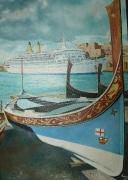 Cruiseschip Eugenio C te Malta
