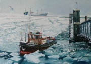 Terneuzen, winter 1963